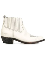 Golden Goose Deluxe Brand 'Crosby' Boots White