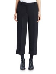 Thom Browne Cropped Wool Trousers