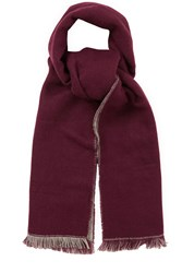 Oasis Double Faced Plain Scarf Grey