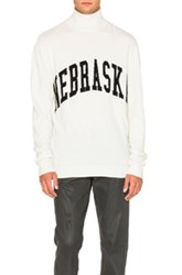 Off White Nebraska Turtleneck In White