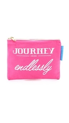 Flight 001 Journey Endlessly Pouch Pink