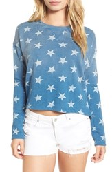 Billabong Women's 'By Your Side' Terry Pullover Aged Indigo