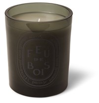Diptyque Grey Feu De Bois Scented Candle 300G Green