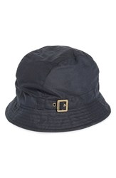 Barbour Women's Waxed Cotton Trench Hat Blue Navy