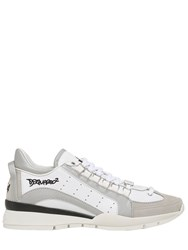 Dsquared Leather And Nylon Sneakers