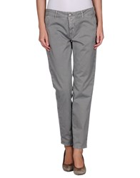 Care Label Trousers Casual Trousers Women Dove Grey