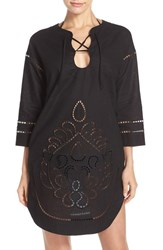 Seafolly Women's Embroidered Cover Up Tunic