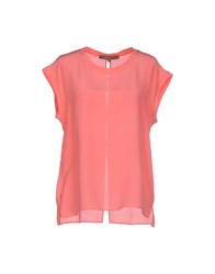 Space Style Concept Shirts Blouses Women Coral
