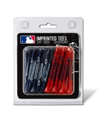 Team Golf Cleveland Indians 50Pk Golf Tees Team Color