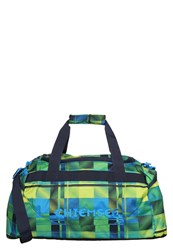 Chiemsee Matchbag Medium Sports Bag Great Checker Green