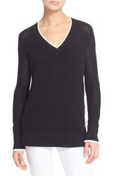 Rag And Bone Women's Rag And Bone Jean 'Maeve' V Neck Sweater Black