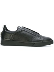 Ermenegildo Zegna Lace Up Sneakers Black