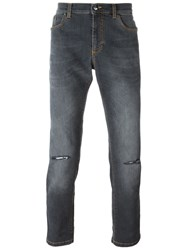 Versace Collection Skinny Jeans Grey