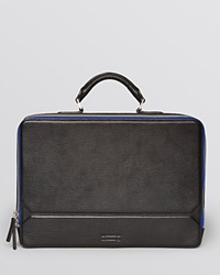Ben Minkoff Eton Slim Briefcase Black