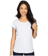 Columbia Trail Shaker Short Sleeve Shirt Cirrus Grey Heather Women's Short Sleeve Pullover Gray