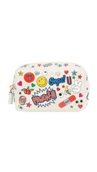 Anya Hindmarch All Over Wink Make Up Pouch Chalk