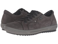 Rieker M6104 Graphit Women's Lace Up Casual Shoes Gray