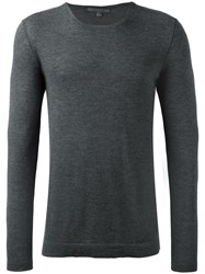 John Varvatos Crew Neck Jumper Grey