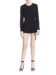 Elizabeth And James Lucille Short Jumpsuit Black