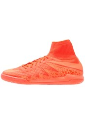 Nike Performance Hypervenomx Proximo Ic Indoor Football Boots Bright Crimson Hyper Orange Total Crimson Red