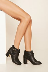 Forever 21 Faux Leather Chelsea Boot