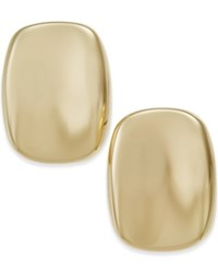 Charter Club Gold Tone Hammer Style Disc Earrings Only At Macy's
