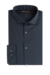Michael Kors Collection Cotton Blend Shirt Blue