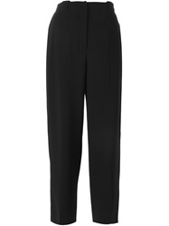 Agnona Cropped Trousers Black