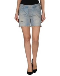 Cycle Denim Bermudas Blue