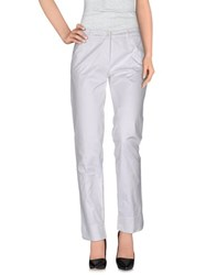 Della Ciana Trousers Casual Trousers Women White