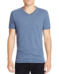 Velvet Ayden V Neck Tee Pruss Blue