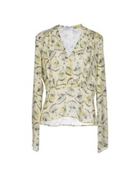 Axara Paris Blouses Light Yellow