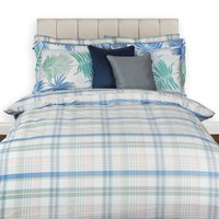 Gant La Check Duvet Cover Breeze Super King