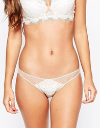 Mimi Holliday Dream Girl Bridal Petal Knicker White