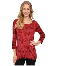 Miraclebody Jeans Bff Top W Body Shaping Inner Shell Garnet Women's Clothing Red