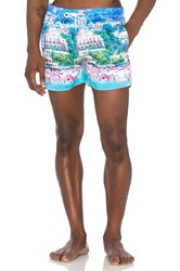 Native Youth Naples Swim Blue