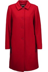M Missoni Wool Blend Coat Claret