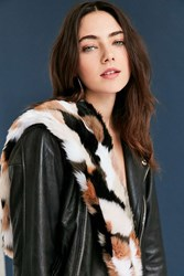 Urban Outfitters Faux Fur Neck Scarf Black