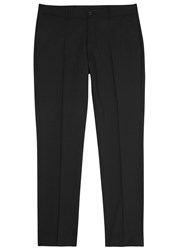 Tiger Of Sweden Herris Black Stretch Wool Trousers