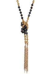 Lucky Star Jewels The Golden Sky Wrap Necklace Blue