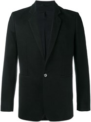 Ann Demeulemeester Fitted Blazer Black