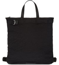 Mcq By Alexander Mcqueen Crinkled Backpack Black