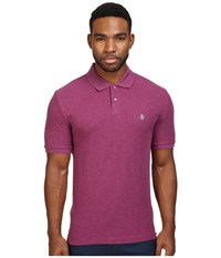 Original Penguin Daddy Polo Amaranth Men's Short Sleeve Pullover Purple