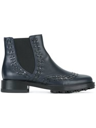 Tod's Chelsea Boots Blue