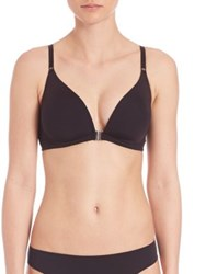 Cosabella Evolution Front Closure Bralette Black