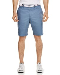 Original Penguin Slim Fit Shorts With Stripe Waistband 100 Bloomingdale's Exclusive Flint Stone
