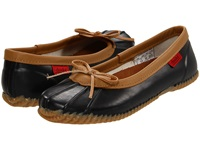 Chooka Solid Duck Skimmer Black Women's Slip On Shoes