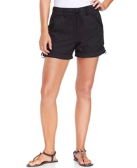 Jag Cuffed Cover Up Shorts Women's Swimsuit Black
