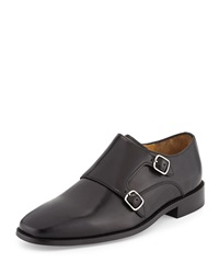 Cole Haan Giraldo Monk Strap Loafer Black