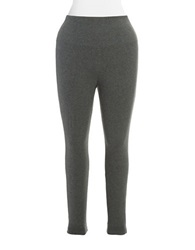 Lysse Women's Ponte Tights With Center Seam Charcoal